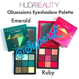 Huda Beauty Obsessions Emerald Ruby Eyeshadow